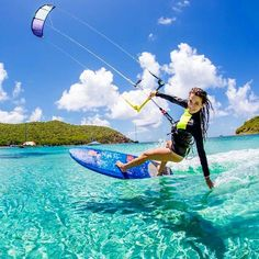 Still want to try kite boarding. Will add it to the ever-growing list of water sport gear needed.