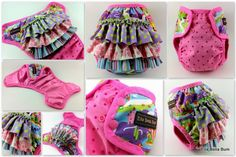How cute is this cloth diaper cover! Sam at ellabellabum is just the best!