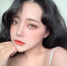 Cute Makeup, Beauty Makeup, Makeup Looks, Hair Makeup, Korean Beauty Girls, Cute Korean Girl, Asian Beauty, Ulzzang Hair, Ulzzang Makeup