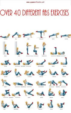 ab workout video  40 abd exercises  pinterest  fitness