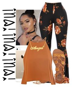 """Fustrated"" by sammy-pinckney ❤ liked on Polyvore featuring Billabong and Glamorous"