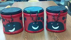 Ever wonder what to do with all those plastic coffee cans?We turned them into our Valentine Holders! Valentines Day Activities, Valentine Ideas, Be My Valentine, Classroom Teacher, Classroom Ideas, Daycare Crafts, Crafts For Kids, Plastic Coffee Cans, Valentines Card Holder