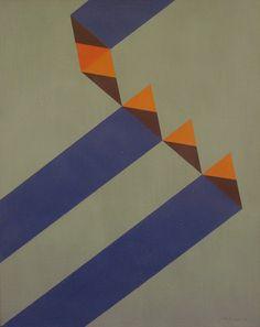 JUDITH LAUAND (1922) Composição Geométrica