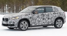 Scoop: New BMW X2 Is A More Stylish Take On The X1 #BMW #BMW_Scoops