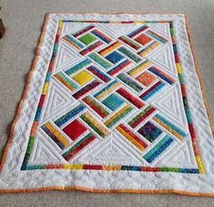 Baby Quilt, Baby Shower Gift, Lap Quilt by SheilaAnnsShoppe on Etsy