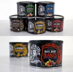 Lord Lexington Nuts packaging design by 29 Agency