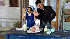 avances del capitulo 13-Esperanza mia. Esperanza/Julia y el padre Tomas cuidan de Tobias y parecen los padres de la criatura