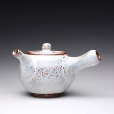 handmade ceramic teapot kyusu teapot tea kettle by rmoralespottery