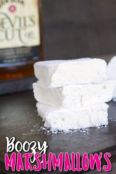 If you are a hot chocolate fan or a s'mores fan, you will fall in love with these Boozy Marshmallows! Talk about taking your hot cocoa and s'mores up a notch!