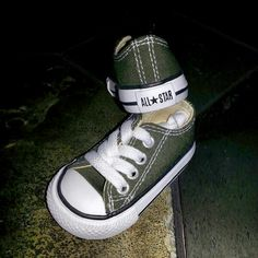 My baby boy new Chuck Taylor All★Star shoes