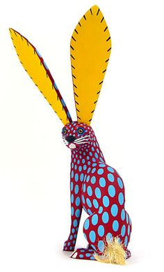 Rabbit by Luis Pablo - Oaxaca Mexico Animals - He's so funny! I will have him on my front patio in Mexico!!