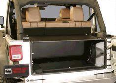 JK Unlimited Security Tailgate Enclosure Jeep Wrangler, JK 2011+