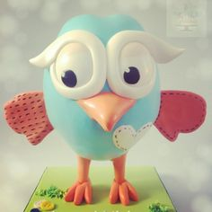 Giggle and Hoot Cake  - Cake by thecakeaddiks