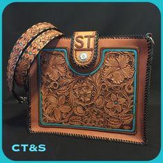Western Shoes, Western Purses, Custom Leather, Leather Art, Tooled Leather, Leather Tooling Patterns, Custom Purses, Tandy Leather, Unique Handbags