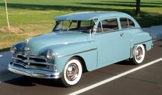 1950 Plymouth 2dr