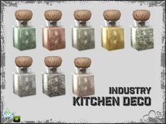 Part of the *Industry Series* Found in TSR Category & 4 Clutter& Around The Sims 4, Sims 4 Kitchen, Sims 4 Clutter, Crepe Maker, Sims Community, Office Set, Electronic Art, Sweet Memories, Tea Set