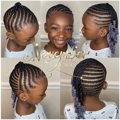 Booking Link In Bio! Booking Link In Bio! # Braids for girls link Little Girl Braid Styles, Little Girl Braid Hairstyles, Toddler Braided Hairstyles, Toddler Braids, Black Kids Hairstyles, Little Girl Braids, Baby Girl Hairstyles, Natural Hairstyles For Kids, My Hairstyle