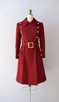 wool 60s coat