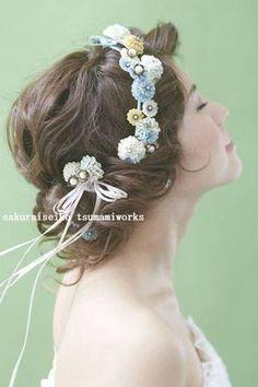 野に咲く花の冠