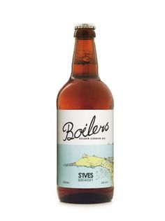 BOILERS GOLDEN CORNISH ALE | St Ives Brewery | Cornwall     ✫ღ⊰n