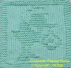 Knitting Cloth Pattern  MR STORK   Instant Download by ezcareknits, $3.00