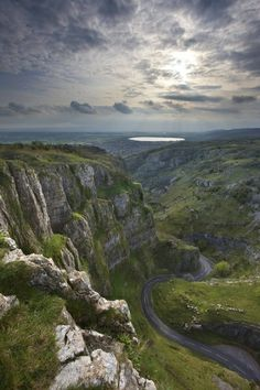 British Countryside, Cheddar Gorge, Somerset