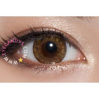 Royal Vision Creamy Brownish Hazel Circle Lenses Colored Contacts Cosmetic Color Circle Lens | EyeCandy's