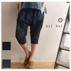 【bul bul バルバル】(サンバレー sun valley) タイプライター オリエンタル パンツ (bk2026162)
