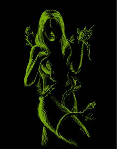 Poison Ivy - Batman - by @ Deviant Art Poison Ivy Batman, Dc Poison Ivy, Poison Ivy Dc Comics, Deviant Art, Comic Books Art, Comic Art, Catwoman, Hq Dc, Hq Marvel