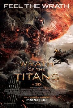 "New Poster for ""Wrath of the Titans"""