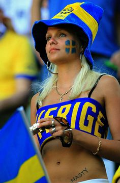 Beautiful Swedish Fans of Euro 2012 ~ Istoryadista