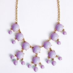 Purple Bubble Necklace -Hurry In!