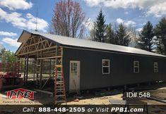 Id 548 Building Garage Design Garage Door Framing Pole Buildings