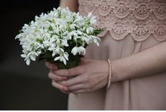 Blue Sky Photography - All Snowdrop Bouquet