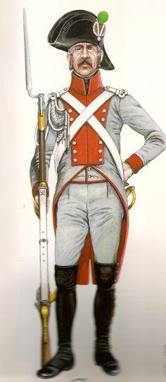 Cisalpine Republic; Gendarme a Pied 1800