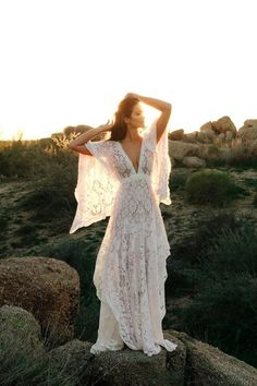 8 Canadian wedding dress designers you should know about - romantic and vintage inspired flutter sleeve lace wedding dress by Reclamation Source by charmingblush designs Cute Wedding Guest Dresses, Indie Wedding Dress, Western Wedding Dresses, Designer Wedding Dresses, Bridal Dresses, Wedding Gowns, Lace Wedding, Mermaid Wedding, Reception Dresses