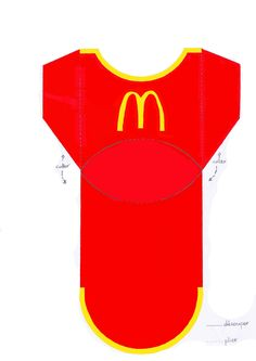 Patron Boite De Frite McDonald's