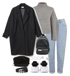"""Untitled #4954"" by theeuropeancloset on Polyvore featuring Topshop, River Island, Alexander McQueen, Alexander Wang, Daisy Knights, Gucci and ASOS"