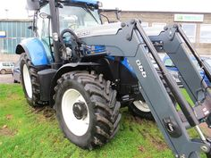 New Holland T7.185 -  Range Command Transmission, Quicke 66 loader with Electric…
