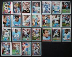 Houston Oilers, Football Cards, American Women, History, Ebay, Historia, Soccer Cards, History Activities