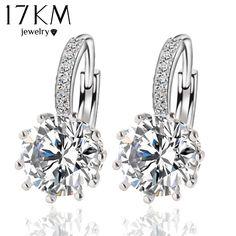 Miss Kiss Zircon Earrings Statement Tree Dangle Drop Earrings Fashion Jewelry