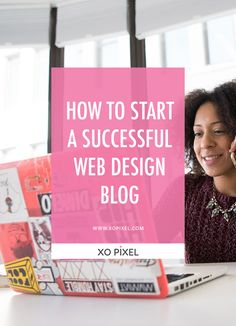 Have you ever considered starting your own web design blog? Well, in this article, I'll be sharing some really great info on how you can start a successful web design blog. It's super easy to start a blog nowadays. What are you waiting for? Give it a go! Web Design Jobs, Free Web Design, Web Design Quotes, Web Design Services, Web Design Company, Blog Design, Simple Website Design, Hand Lettering Tutorial, Business Design