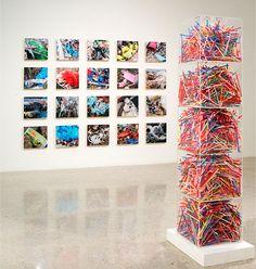 Oceans of Plastic - Art Exhibition by Shelia Rogers Art Installations, Installation Art, Disability Art, Photography Exhibition, Plastic Art, Ocean Photography, Contemporary Artwork, Environmental Art, Oceans