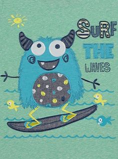 Surf the Waves T-shirt, read reviews and buy online at George at ASDA. Shop from our latest range in Kids. Mini surfer dudes will love this stylish tee. Desi...