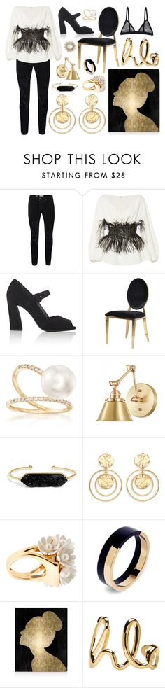 """""""Glimmer"""" by cherieaustin on Polyvore featuring Topman, Elizabeth Kennedy, Prada, Ross-Simons, BaubleBar, Kenneth Jay Lane, Lele Sadoughi, Marni, Oliver Gal Artist Co. and Chloé"""