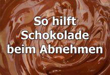 So hilft Schokolade beim Abnehmen