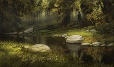 Background art by Nick Cross