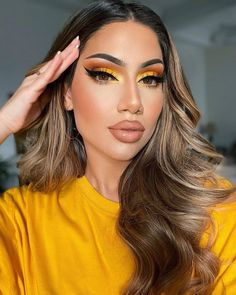 Bright Makeup, Glam Makeup Look, Love Makeup, Beauty Makeup, Hair Beauty, Pretty Makeup, Kiss Makeup, Hair Makeup, Goddess Makeup