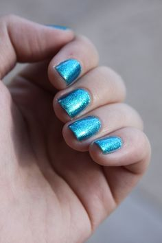 my nails.    OPI Catch me in your net.
