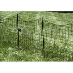 H x 3 ft. W Garden Fence Panel ft. H x 3 ft. W Zippity Garden Fence Gate Metal Garden Fencing, Garden Fence Panels, Wire Fence, Metal Fence, Small Garden Gates, Outdoor Fencing, Fence Gates, Garden Fences, Pallet Fence